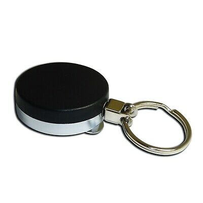 Extra Heavy Duty Retractable Reel ID Card Pass Badge Key Holder Steel Wire • 3.99£