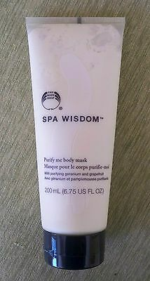 £8.71 • Buy The Body Shop Spa Wisdom  Body Mask New,full Size, Rare, Hard To Find