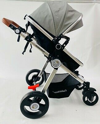 AU129 • Buy Mamakiddies Compact Cabin Light Weight Baby Stroller Baby Pram Travel Carry GREY