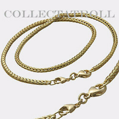 $2649 • Buy Authentic Trollbeads 14K Gold Necklace With Lock 16.5