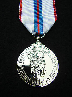 Queen's Silver Jubilee 1977 Medal+Ribbon Full Size - Army,RAF,Royal Navy,Police • 34.99£