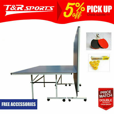 AU419.99 • Buy Dh 13mm Foldable Portable Ping Pong Table Tennis Table + Accessory Package