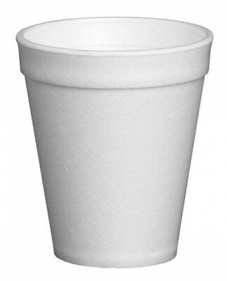 1000x Polystyrene Cups Small 7oz Disposable Foam Party Catering Hot Cold Drink • 38.99£