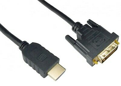 2m DVI To HDMI Cable Lead Wire - Connect Computer PC Laptop To TV DVD TFT LCD  • 3.29£