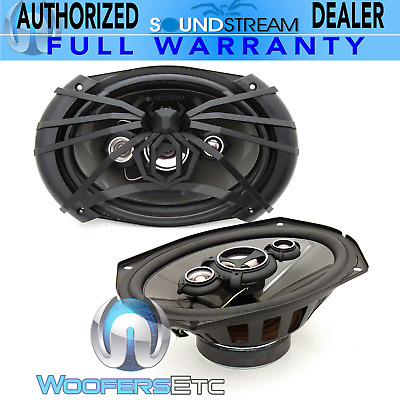 AU112.62 • Buy Soundstream Af.694 6 X9  500w 4-way Dome Tweeters Coaxial Spider Speakers New