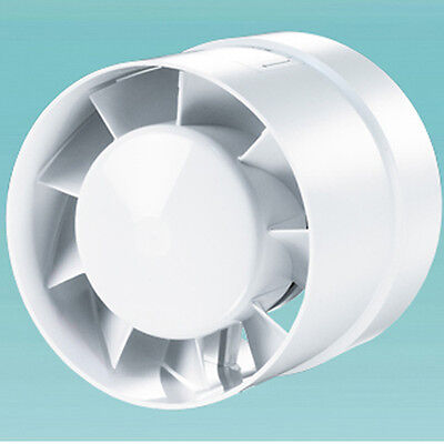 In Line Hydroponic Grow Room Tent Air Extractor Or Input Fan - 185M3/H - 5  Dia • 15.99£