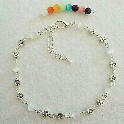 NEW Unique Pretty Daisy Chain Beach Boho Anklet Ankle Bracelet All Colours Gift • 5.99£