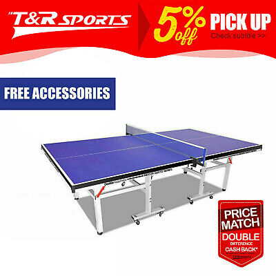 AU449.99 • Buy 20% OFF PRIMO 19MM Table Tennis Table / Ping Pong Table W/ Net Set Tournament