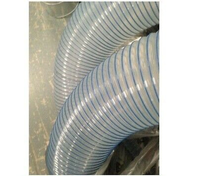 PU R BLUE Flexible Hose- Ventilation, Fume & Dust Extraction, Woodworking • 14.30£