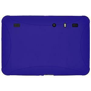 AU15.89 • Buy AMZER Silicone Skin Jelly Case Cover For Fit Motorola XOOM - Blue