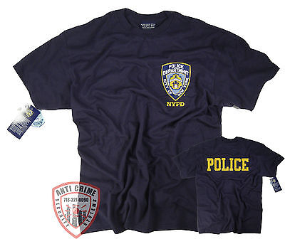 £10.61 • Buy NYPD T-Shirt Officially Licensed By The New York City Police Department