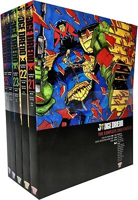 Judge Dredd: Complete Case Files Volume 21-25 Collection 5 Books Set (Series 5) • 56.34£