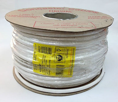 FP200 Type Cable 1.5mm 2c+earth White 100m Drum • 82.50£