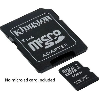 AU4.39 • Buy 1xT-Flash TF Micro SD To SD Memory Card Reader ADAPTER For 2gb 4gb 8gb 16 Gb 32g