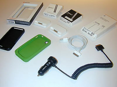 £35.40 • Buy Apple IPhone 4 & 4S Accessories Including Docks - Cases - Cable - Car Charger