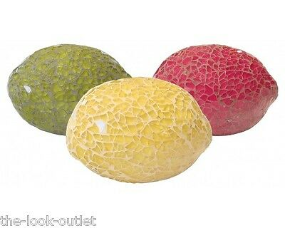 £8.35 • Buy Mosaic Glass Lemons - Choose Colours - Great Focal Point For Rooms