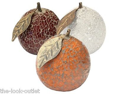 £8.40 • Buy Mosaic Glass Oranges - Choose Colours - Great Focal Point For Rooms
