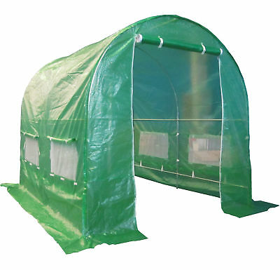 Fully Galvanised Steel Frame Polytunnel Greenhouse Pollytunnel Tunnel 3m X 2m • 94.99£