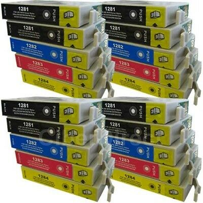 £24.40 • Buy 20 CiberDirect T1281 T1282 T1283 T1284 Ink Cartridges To Fit Epson Printers