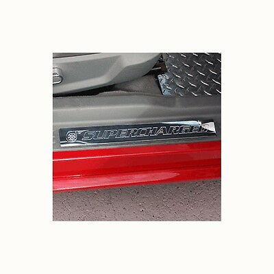 $39.99 • Buy (2pc) 05-14 Mustang Door Sill Show Quality Polished Finish Supercharged Sills
