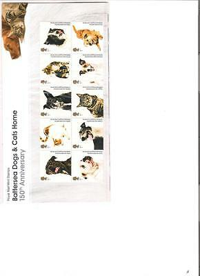 2010  Royal Mail Presentation Pack Battersea Dogs & Cats Home Mint Decimal Stamp • 9.16£