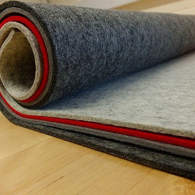 3mm - 4mm Thick Pressed 100% Wool Felt  60cm Wide Per 0.5 Metre • 4.25£