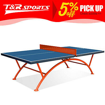 AU629.99 • Buy Crown Pro Size Outdoor Table Tennis / Ping Pong Table Weather Proof Metal Net*