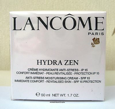 Lancome Hydra Zen Moisturiser 50ml + Spf 15 - Cellophane Sealed • 42.50£