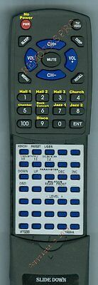 Replacement Remote For YAMAHA VF702300, DSP100U BLACK, RSDSP100 • 27.37£