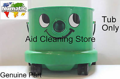 Numatic Industrial George Carpet Cleaning Vacuum Cleaner Hoover Green Tub House • 39.99£