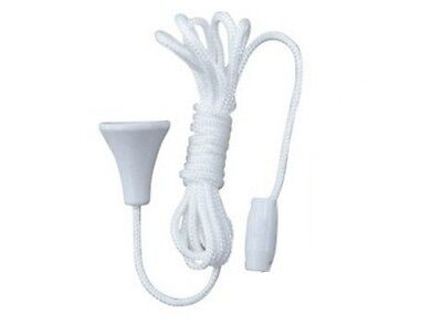 Replacement Spare Bathroom Light / Shower Room / Ceiling Switch Pull Cord String • 1.99£