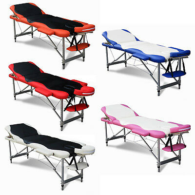 Portable Folding Massage Table – Beauty Salon Bed Relax Therapy Luxury Couch • 73.99£