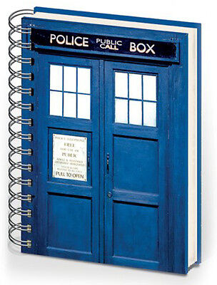 Doctor Who Tardis A5 Notebook Brand New Great Gift School Office • 10.99£