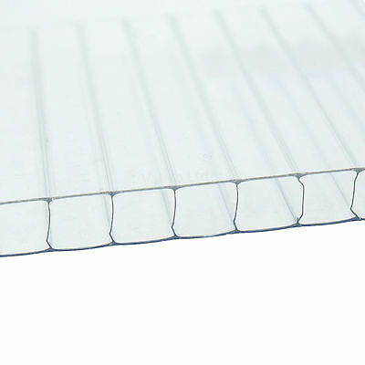 £20.58 • Buy 10mm Polycarbonate Sheet Clear - Ideal For Lean To Roofs & Carports
