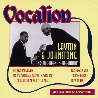 LAYTON & JOHNSTONE - Me And The Man In The Moon (1929-46) - Pop Vocal • 10.30£