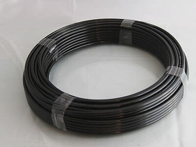 Polyurethane Tubing-Pipe In Black , Various Sizes And Lengths , Air Pipe • 1.79£