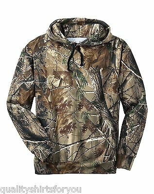 Russell Outdoors Mens Realtree AP Camo Hooded Sweatshirt Size S-3XL NEW S459R • 20.71£
