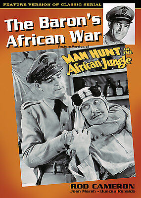 £10.83 • Buy BARON'S AFRICAN WAR - Feature Version MANHUNT IN AFRICAN JUNGLE- ROD CAMERON DVD