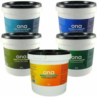 Ona Gel 4L Air Odour Eliminator/Neutralizer Grow Rooms/Tents Fresh Smell Agents • 44.95£
