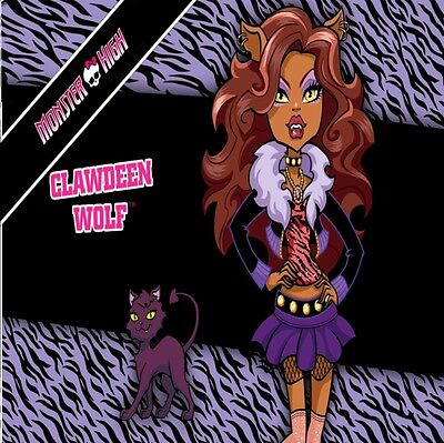 Monster High   Clawdene Wolf Kids Bedroom Canvas Picture  • 7.49£