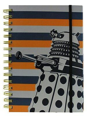 Doctor Who Dalek A5 Notebook Brand New Great Gift School Office • 8.99£