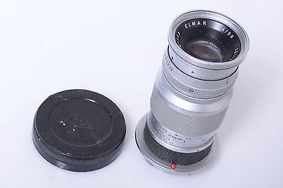 $ CDN398.72 • Buy ✅ Leica M Bayonet 9cm, 90mm 4.0 Elmar Chrome. 1960. W/ Rear Cap. M9,m8,m240,m9p