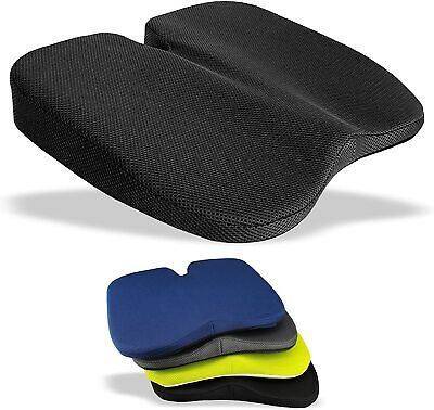 AU32.53 • Buy Coccyx Seat Cushion Pain Support Orthopaedic Lumbar Back Wedge Car Office Chair