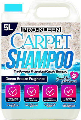 Carpet Shampoo Cleaning Solution Extraction Cleaner Pet Compatible With Vax • 14.95£