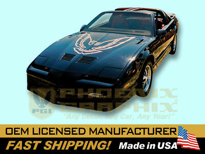 $199 • Buy 1987 Firebird Trans Am TA Second Gen Hood Bird Decals Stripes Graphics Kit