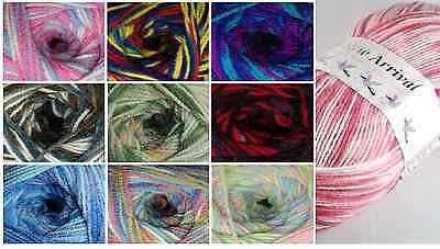 Baby Wool, New Arrival Randoms DK Double Knitting Yarn From Jarol 200g Ball • 3.99£