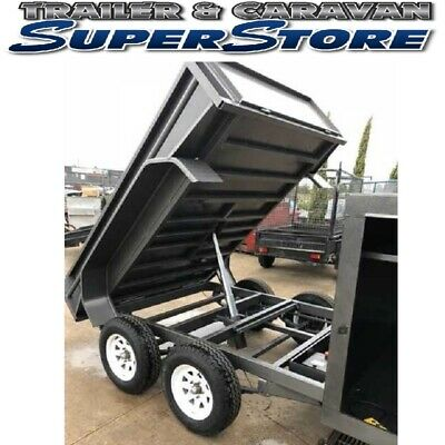 AU7950 • Buy 9x5 Tandem Hydraulic Tipper Trailer Heavy Duty Traralgon