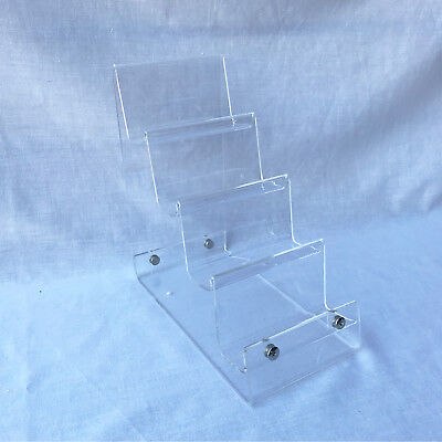 £13.99 • Buy New 4-tier Clear Strong Acrylic Purse Retail Fashion Shop Display Stand Small
