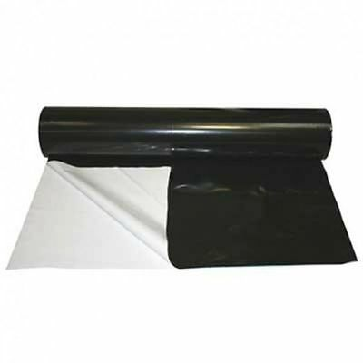 £44.50 • Buy Black/White Reflective Grow Room Plastic Sheeting - 1 To 100m 2m Wide 125 Micron