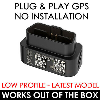 Van Obd Gps Tracking Device Car Tracker Coach Taxi Plug And Play Pay As You Go • 62.99£